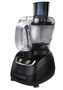 BLACK+DECKER 8-Cup Food Processor, Black, FP1600B