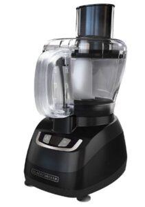 BLACK+DECKER 8-Cup Food Processor, Black, FP1600B