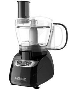 BLACK+DECKER 8-Cup Food Processor, Black, FP1700B
