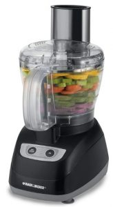 Black & Decker FP1800B 8 Cup Food Processor, Black