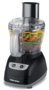 Black & Decker FP1800B 8 Cup Food Processor, Black