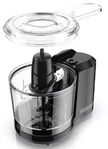 3. BLACK+DECKER 1.5-Cup Electric Food Chopper HC150B