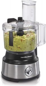 Hamilton Beach 70730 Food Processor & Vegetable Chopper With Bowl Scraper, 10 Cup